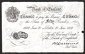 London Coins : A130 : Lot 106 : Fifty pounds Catterns white WW2 German Operation Bernhard forgery dated 20 June 1932 prefix 48/N&#44...