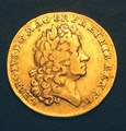 London Coins : A130 : Lot 1234 : Guinea 1714 George I Prince Elector S.3628 GF/VF