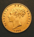 London Coins : A130 : Lot 1279 : Half Sovereign 1847 Marsh 421 VF/NVF
