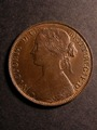 London Coins : A130 : Lot 1527 : Penny 1860 Freeman 15 dies 4+D Toned Near UNC with some weakness of strike on the reverse