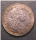 London Coins : A130 : Lot 1710 : Shilling 1700 Fifth Bust ESC 1121 EF with some haymarking and darkly toned around the rims