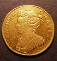 London Coins : A130 : Lot 1978 : Two Guineas 1711 S.3569 Good Fine or slightly better