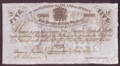 London Coins : A130 : Lot 389 : Jersey States £5 dated 1840, British administration interest bearing note, remainder&#...