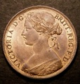London Coins : A131 : Lot 1638 : Penny 1865 as Freeman 50 dies 6+G the 5 slightly more widely spaced from the 186 in the date, UN...