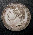 London Coins : A132 : Lot 1021 : Halfcrown 1820 George IV ESC 628 GEF and nicely toned