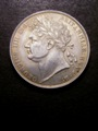 London Coins : A132 : Lot 1022 : Halfcrown 1820 George IV ESC 628 NEF lightly toned