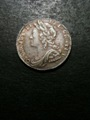 London Coins : A132 : Lot 1250 : Sixpence 1732 Roses and Plumes ESC 1608 NEF toned