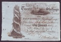 London Coins : A132 : Lot 448 : Scotland, East Lothian Banking Comp. 20 shillings dated 1st Nov. 1821, No.201/439 and signed...