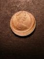 London Coins : A132 : Lot 568 : Mis-strike Decimal One Penny 1971 struck about 20% off-centre with around 4mm blank flan A/UNC w...