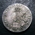 London Coins : A132 : Lot 649 : Sixpence Elizabeth I Milled Coinage 1562 Tall narrow bust with plain dress S.2594 mintmark Star VF w...