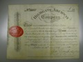 London Coins : A132 : Lot 69 : Great Britain, Highgate Archway Co., certificate No.310 for one share, 1810, ornate ...