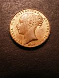 London Coins : A133 : Lot 1344 : Gibraltar Quart 1842 2 over 0 KM#2 UNC with around 40% lustre