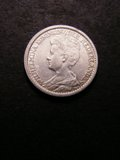 London Coins : A133 : Lot 1428 : Netherlands 25 Cents 1913 KM#146 NEF/GVF