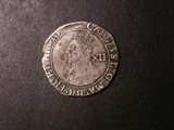 London Coins : A133 : Lot 185 : Shilling Charles I Tower Mint under the King Group D Fourth Bust type 3.1 with falling lace collar S...