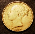London Coins : A133 : Lot 961 : Sovereign 1870 Marsh 54 Die Number 88 GF/NVF