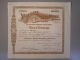 London Coins : A134 : Lot 11 : Australia, Yuanmi Gold Mines Ltd., share certificate, 1912, mines on the East Murchi...
