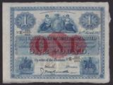London Coins : A134 : Lot 1136 : Scotland Union Bank square £1 dated 30th March 1917 series E884/663 signed McCrindle/Smith,...