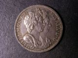 London Coins : A134 : Lot 1606 : William and Mary c.1689 26mm diameter in silver by J. or N. Roettier Obverse Busts right conjoined&#...