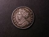 London Coins : A134 : Lot 2267 : Shilling 1711 Fourth Bust ESC 1158 Good Fine toned
