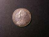 London Coins : A134 : Lot 2363 : Sixpence 1746 LIMA ESC 1618 NEF/EF and nicely toned