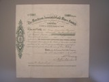 London Coins : A134 : Lot 7 : Australia, Murchison Associated Gold Mines Ltd., share certificate No.11, dated 1901,...