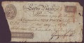 London Coins : A134 : Lot 855 : Leeds Commercial Bank £1 dated 1809, No.126 for Fenton Scott, Nicholson & Smith (O...