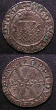London Coins : A143 : Lot 1070 : Scotland (2) Bawbee James V and Mary S.5384 Fine with some scratches on the obverse, Bawbee Mary Fir...
