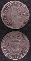 London Coins : A143 : Lot 1088 : Scotland Twenty Pence (2) Charles I S.5581 both VG