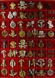 London Coins : A143 : Lot 711 : Badges, mainly assorted Cavalry and Yeomanry Cap badges in brass & white metal, generally GVF (3...