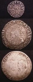 London Coins : A145 : Lot 1253 : Hammered a small group (3) Shilling Philip and Mary, undated, with mark of value, full titles S.2498...
