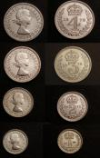 London Coins : A146 : Lot 3274 : Maundy Set 1978 ESC 2595 Lustrous UNC, the Fourpence with some light hairlines