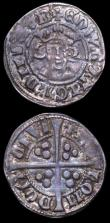 London Coins : A150 : Lot 1773 : Pennies Edward I (2) London Mint EDWR S.1409B and Canterbury Mint EDWR S.1419 both Fine the first ni...