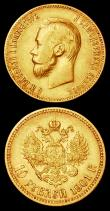 London Coins : A157 : Lot 1586 : Russia 10 Roubles (2) 1899 and 1901 both VF