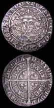 London Coins : A157 : Lot 1892 : Groats (2) Henry VI Annulet issue Calais Mint S.1836 mintmark pierced cross GF/NVF toned, Henry VIII...