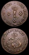 London Coins : A158 : Lot 1346 : USA (2) Dime 1897S Breen 3505 Fine the obverse with some contact marks, French Colonial Sous Marques...