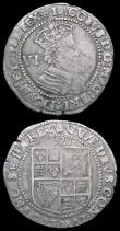 London Coins : A158 : Lot 1769 : Sixpences James I (2) First Coinage Second Bust 1604 S.2648 mintmark Lis VG/About Fine,  Third Coina...