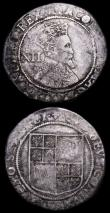 London Coins : A159 : Lot 658 : Shillings (3)  Elizabeth I Second Issue S.2555 mintmark Cross Crosslet About Fine, Sixth Issue S.257...