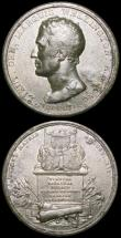 London Coins : A164 : Lot 719 : The Duke of Wellington (2) British Army Enters Madrid 1812 45mm diameter in iron, Eimer 1025 by T.Wy...