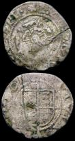 London Coins : A165 : Lot 2387 : Base Pennies Philip and Mary (2) S.2510A one with mintmark halved rose and castle, the other mintmar...