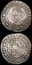 London Coins : A165 : Lot 2486 : Sixpences Elizabeth I (2) 1573 S.2562 bust 4B, NVF toned with some old scratches on the obverse, 157...