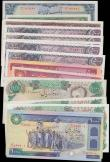 London Coins : A165 : Lot 934 : Iran (18) in mostly high grades comprising 50 Rials Pick 49. 500 Rials Pick 52. 1000 Rials (2) Pick ...