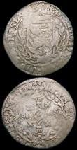 London Coins : A168 : Lot 2060 : Netherlands - West Friesland 6 Stuivers (2) 1601 KM#5.1 VG or slightly better, 1680 Crowned Arms wit...