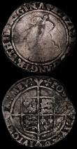 London Coins : A170 : Lot 1334 : Shillings (2) Elizabeth I Second Issue S.2555 mintmark Cross Crosslet Fair/VG, James I Mintmark not ...