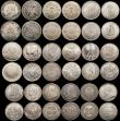 London Coins : A170 : Lot 2582 : A retired dealers ex-retail stock (35) World 17th to 20th Century with many in silver, includes Germ...