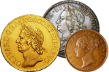 Menu : How to sell your English Coins Single Coins and Small Lots