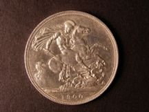London Coins : A124 : Lot 2027 : Crown 1900 LXIII bright nEF