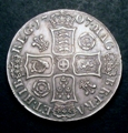 London Coins : A129 : Lot 1155 : Crown 1707 Roses and Plumes ESC 102 NEF and pleasing