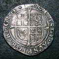 London Coins : A133 : Lot 184 : Shilling Charles I as S.2794 Fifth 'Aberystwyth' Bust, Large XII, Reverse Square topped Shie...