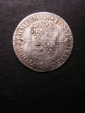 London Coins : A133 : Lot 202 : Sixpence Elizabeth I 1562 S.2596 Milled Coinage Large Broad Bust with elaborately decorated dress...