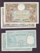 London Coins : A138 : Lot 437 : France (12) includes 20 francs 1916 and 1919 Pick74 Fine-gFine, 10 francs 1921 Pick73b VF, 1...